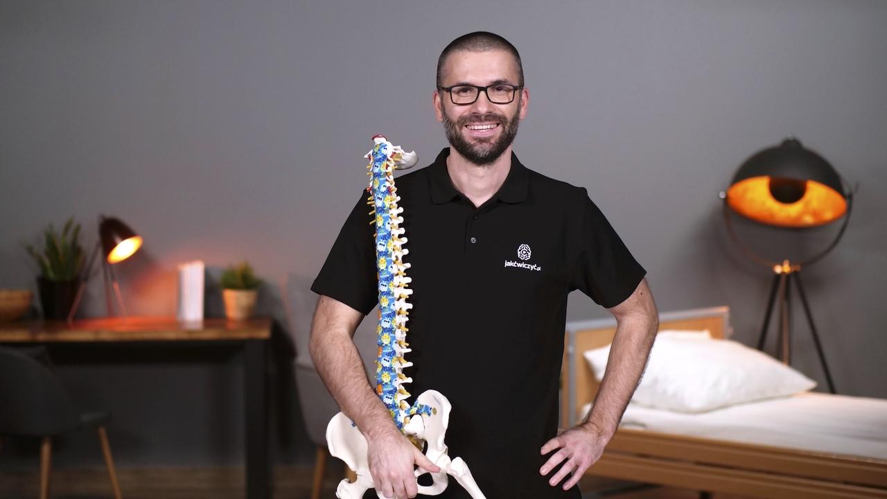 Ból kręgosłupa. Poradnik z ćwiczeniami i wskazówkami dla osób z nagłym oraz długo utrzymującym się bólem w odcinku lędźwiowym kręgosłupa.