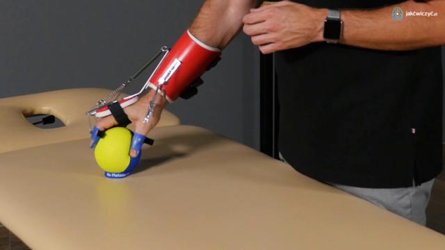 Terapia ręki spastycznej z funkcją chwytania - orteza SaeboFlex