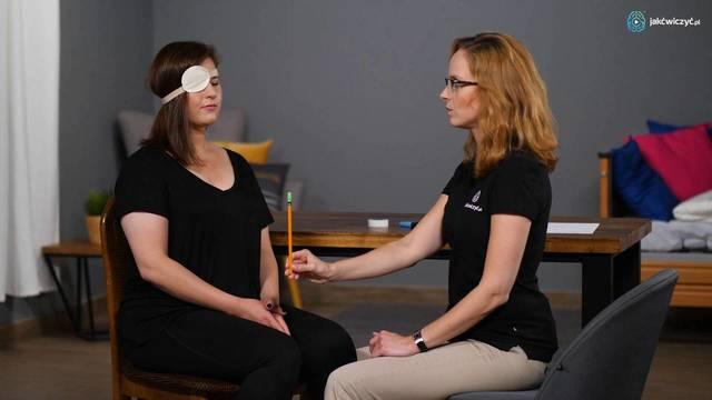 """""""Badanie"""": Fiksowanie, czyli utrzymanie wzroku na obiekcie"""