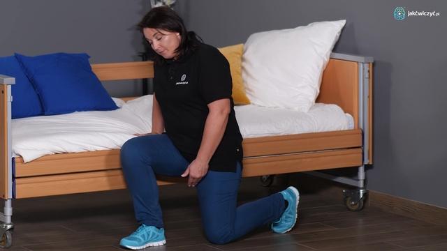 Ćwiczenie 5: Bezpieczne schodzenie i wstawanie z podłogi